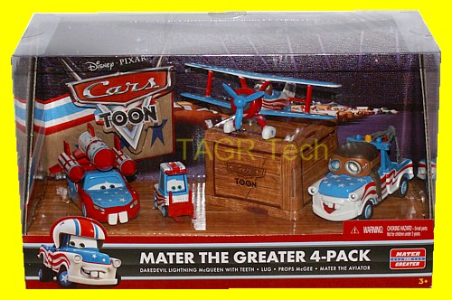 Mater The Greater 4-Pack - Toon