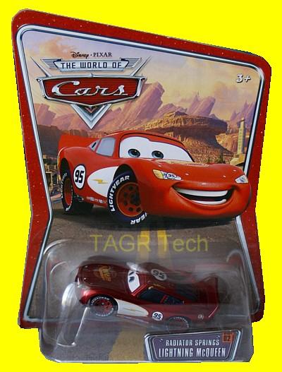 Radiator Springs Lightning McQueen